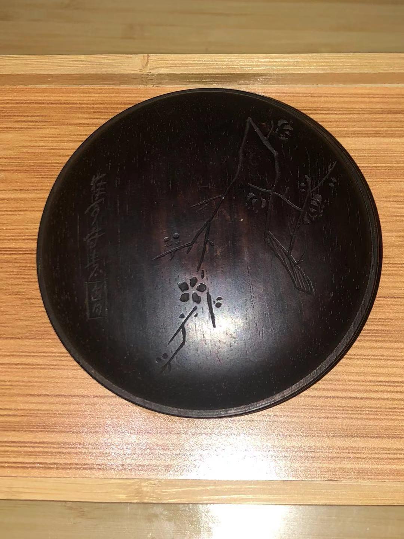 2020/12/16【第九拍】民国紫檀木傲雪寒梅图印泥盒